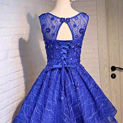 Lace Homecoming Dresses, Charming H..
