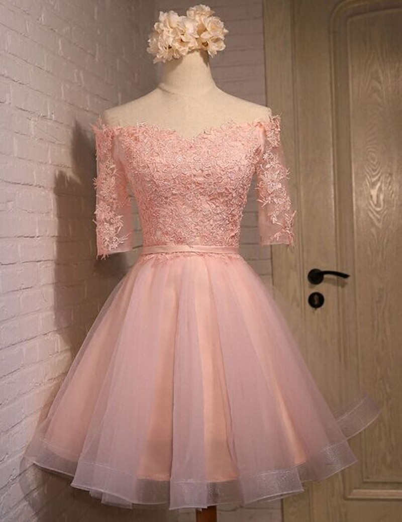 33da517c4a7 Pink Homecoming Dress