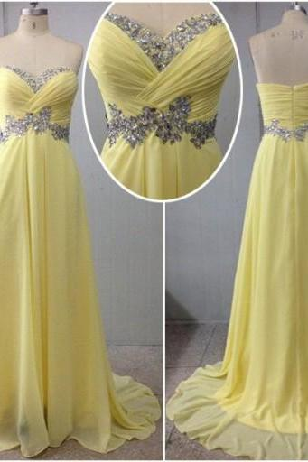 Floor Length Prom Dress,Sweetheart Prom Dress,sleeveless Backless Prom Dress,Chiffon Prom Dress, Elegant Prom Dress,PD0102
