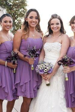 Short Bridesmaid Dress,Irregular Bridesmaid Dress,Simple Bridesmaid Dress,Cheap Bridesmaid Dress,Popular Bridesmaid Dress,PD0416