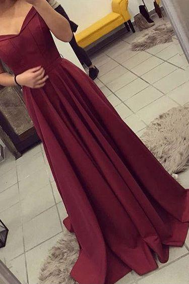 Off Shoulder Elegant Prom Dresses, Simple Prom Dresses, Long A-line Prom Dresses, Cheap Prom Dresses, Popular Prom Dresses, Prom Dresses, Long Prom Dresses, PD0969