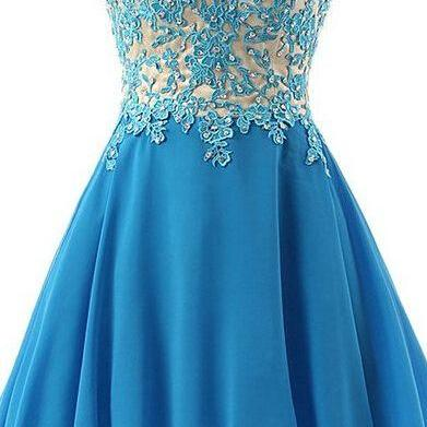 Off Shoulder Blue Lace Homecoming Dresses, Beading Homecoming Dresses, Chiffon Homecoming Dresses, Cheap Homecoming Dresses, Popular Homecoming Dresses, Short Prom Dresses, Homecoming Dresses, PD0806